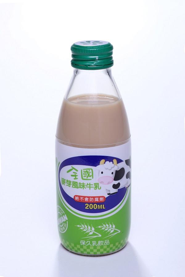 全國保久乳飲品 (玻) 3