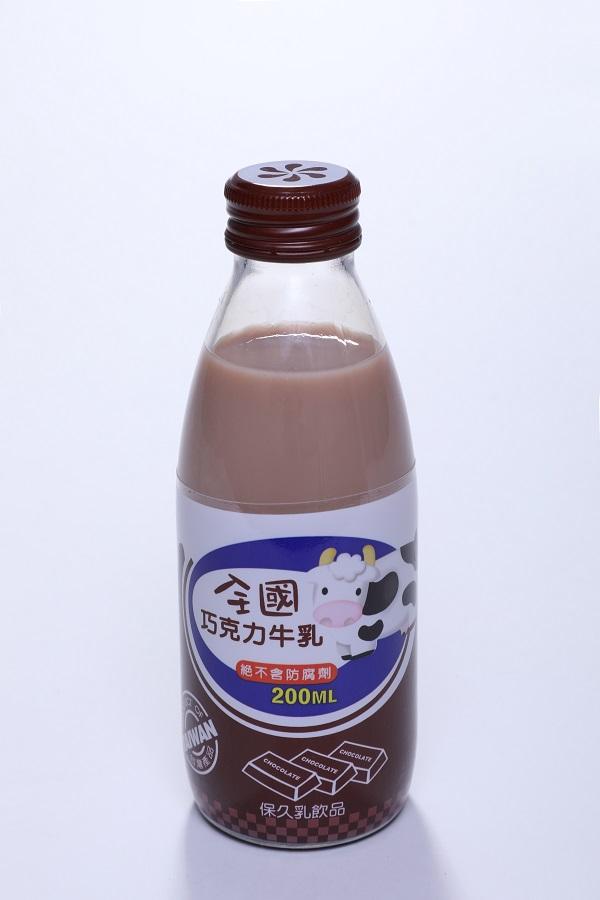 全國保久乳飲品 (玻) 5