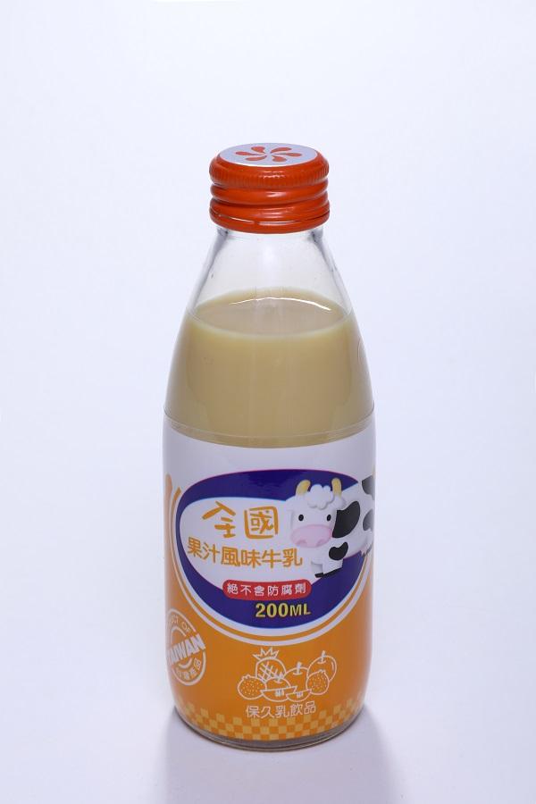 全國保久乳飲品 (玻) 4